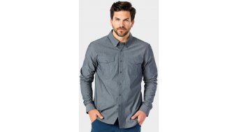Bontrager Adventure Chambray Shirt langarm Herren grey