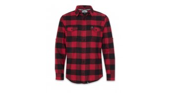 Loose Riders Red Flannel Hemd Herren langarm Gr. S red