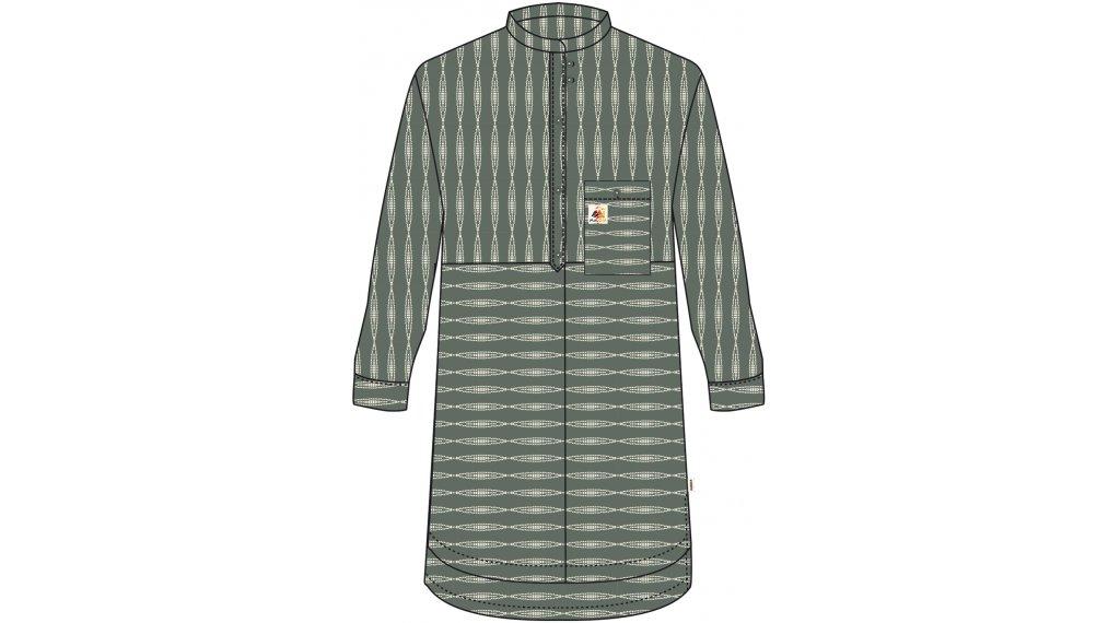 Maloja PaluongiaM. blusa de manga corta Señoras tamaño M cypress rhomb- MUSTERKOLLEKTION