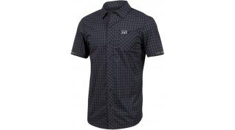 Pearl Izumi Button-Up Funktions-Hemd kurzarm Herren plaid
