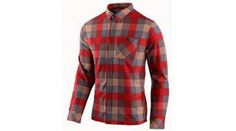 Troy Lee Designs Grind camicia uomini manica lunga . plaid