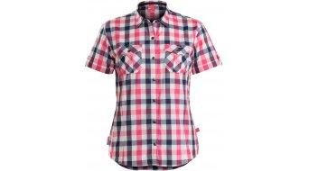 Bontrager Path Woven Дамска риза с къс ръкав, размер (US) pink/navy