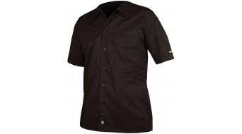 Endura Mechanic casual- shirt short sleeve men black