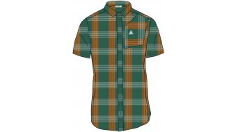 Maloja FalzM. 1/2 shirt short sleeve men size M stone pine check- Sample