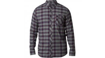 FOX Boedi shirt lange mouw heren maat L grey/red