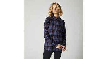Fox Pines Flannel Hemd langarm Damen Gr._S_dark_indo