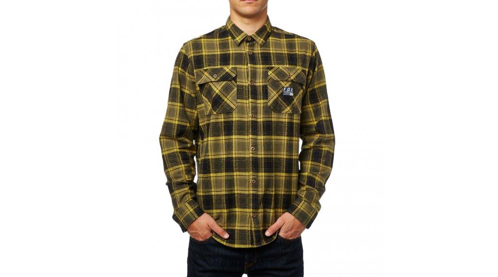 Fox Traildust Flannel Hemd langarm Herren Gr. L günstig kaufen b1ef4b05b7