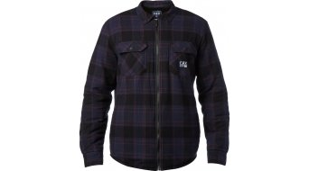 FOX Torrent Flannel camicia manica lunga uomini mis. L midnight