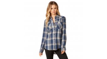 FOX Flown Flannel shirt lange mouw dames maat XS dust blue