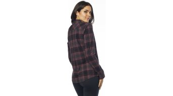 Fox Kick It LS Flannel camisa manga larga Señoras rosé