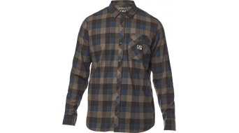 FOX Rowan Stretch Flannel shirt long sleeve men navy