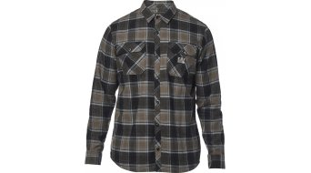 FOX Traildust Flannel shirt long sleeve men size L bark