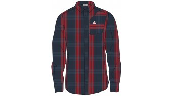 Maloja FalzM. 1/1 camisa manga larga Caballeros tamaño XL mountain lake check