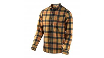 Troy Lee Designs Grind Flannel shirt lange mouw heren maat XL plaid yellow model 2017