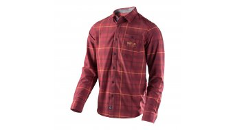 Troy Lee Designs Grind Flannel shirt lange mouw heren maat S plaid red model 2018