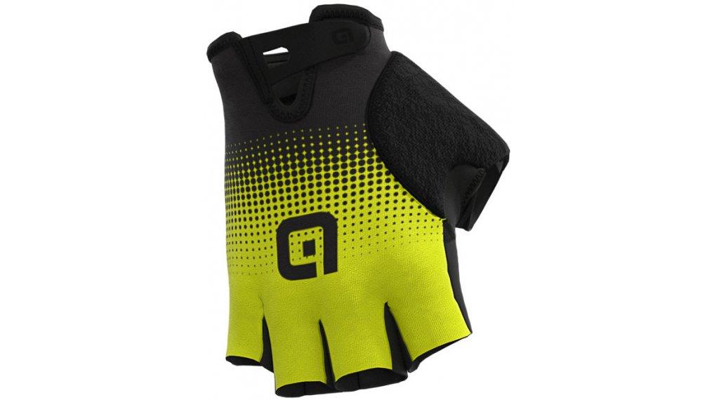 Alé Dots Handschuhe kurz Gr. S black/fluo yellow