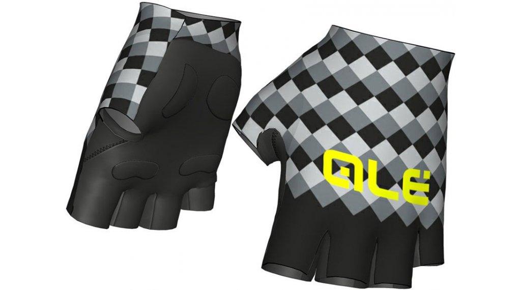Alé Rumbles Fantasy Handschuhe kurz Sommerhandschuhe Gr. S black/grey