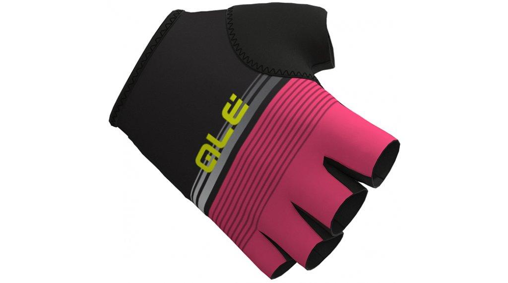 Alè Classiche del Nord Handschuhe kurz Gr. L black/fluo pink