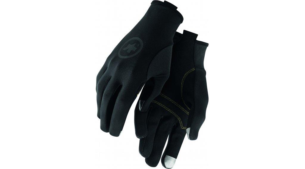Assos Spring Fall Handschuhe lang Gr. S blackSeries
