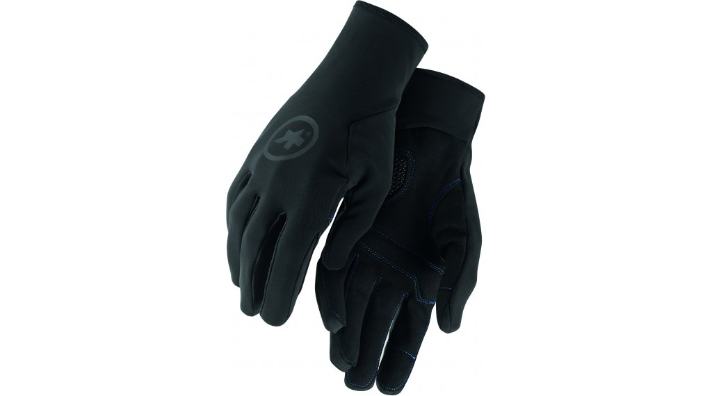 Assos 冬季骑行手套 长 型号 XS blackSeries
