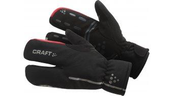 Craft Siberian Split пръст Gloves Ръкавици с пръсти, размер черно/Bright червено