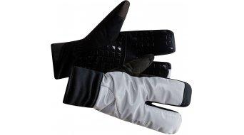 Craft Siberian 2.0 Glow Split Finger Handschuhe lang silver/black
