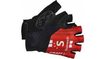 Craft Team Sunweb gloves short sunweb red