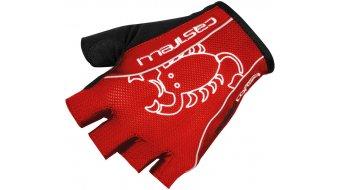 Castelli Rosso Corsa Classic guantes corto(-a) bici carretera-guantes