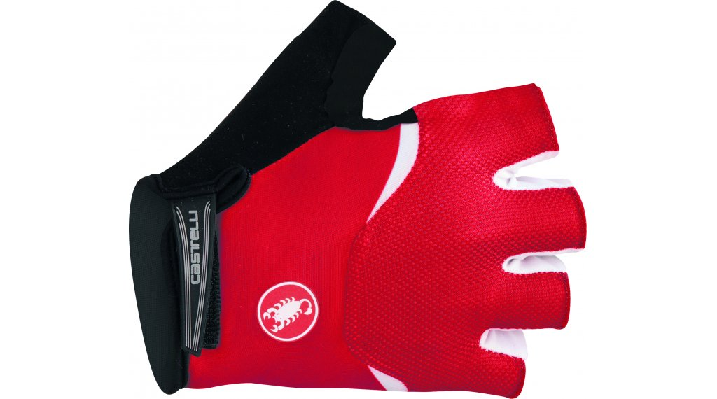 Castelli Entrata Handschuhe kurz Gr. XL red