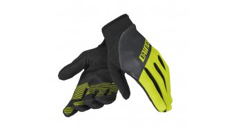 Dainese Guanto Rock Solid-C Handschuhe lang Gr. XXS black/fluo yellow/black