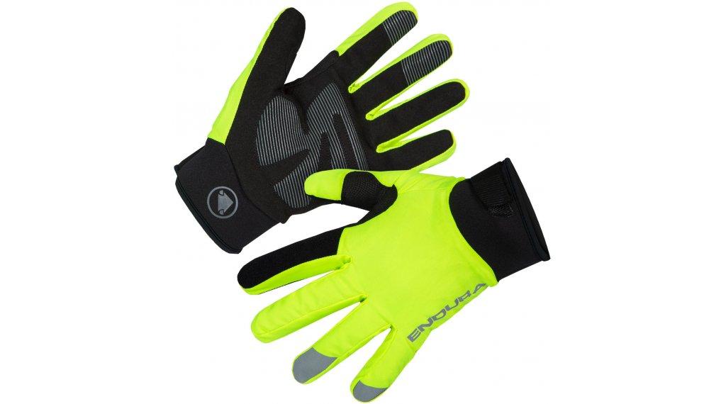 Endura Strike handschoenen lang maat.#*en*#XS#*en*#hi-viz#*en*#geel