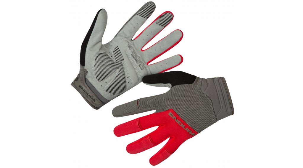 Endura Hummvee Plus II MTB-Handschuhe lang Herren Gr. XS rot