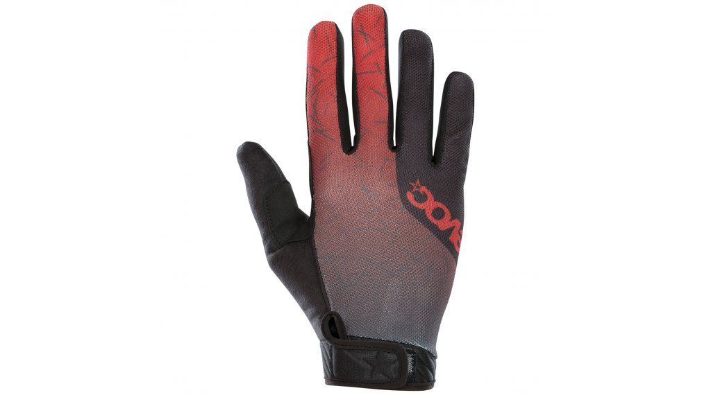 EVOC Enduro Touch Handschuhe lang Gr. L chili red/carbon grey