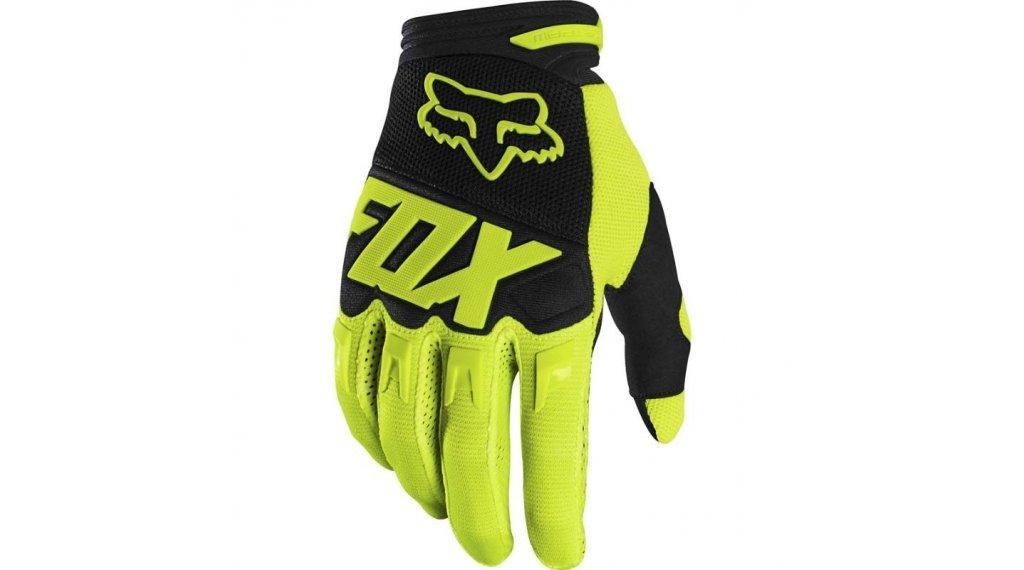 Fox Dirtpaw Race MX-骑行手套 长 男士 型号 M flo yellow