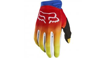 Fox Dirtpaw Fyce Handschuhe lang Kinder blue/red