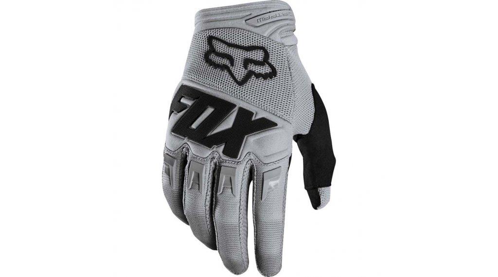 Fox Dirtpaw Race MX-Handschuhe lang Kinder Gr. XS grey