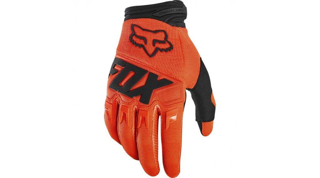 Fox Dirtpaw Race MX-Handschuhe lang Kinder Gr. XS flo orange