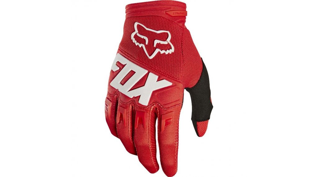 Fox Dirtpaw Race MX-Handschuhe lang Kinder Gr. XS red