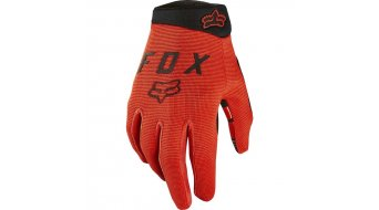 Fox Ranger Kinder MTB-Handschuhe lang Gr. S orange crash