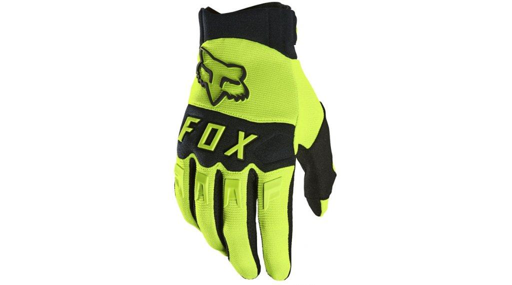 Fox Dirtpaw Handschuhe lang Herren Gr. S flo yellow
