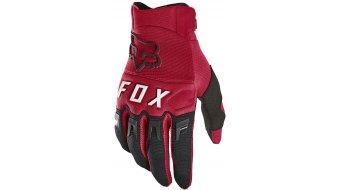 Fox Dirtpaw Handschuhe lang Herren Gr. S flame red