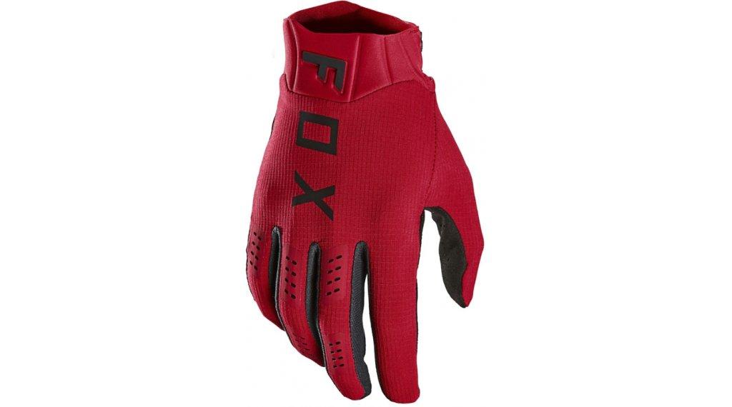 Fox Flexair Handschuhe lang Herren Gr. S flame red