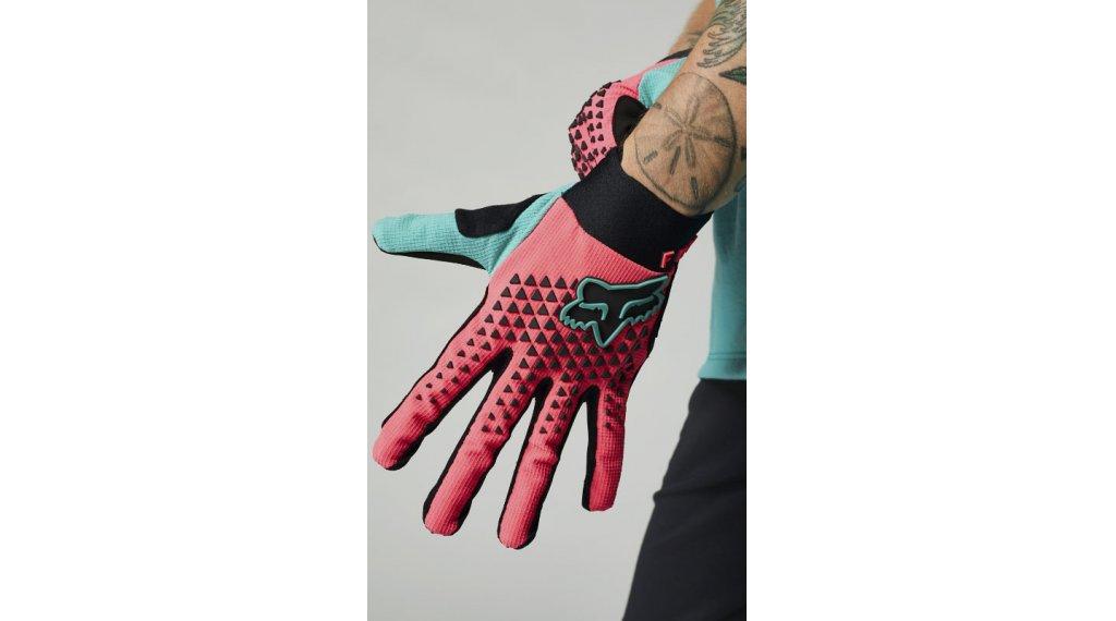 Fox Defend guantes largo(-a) Señoras tamaño S rosa