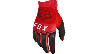 Fox Dirtpaw Handschuhe lang Herren Gr. S flo red