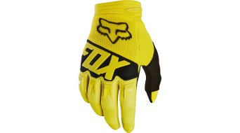 Fox Dirtpaw Race MX Handschuhe lang Kinder Gr. Y-M yellow