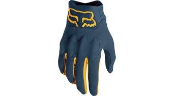 Fox Bomber LT MX-Handschuhe lang Herren navy-yellow