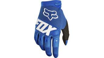 Fox Dirtpaw MX-骑行手套 长 男士 型号 S blue