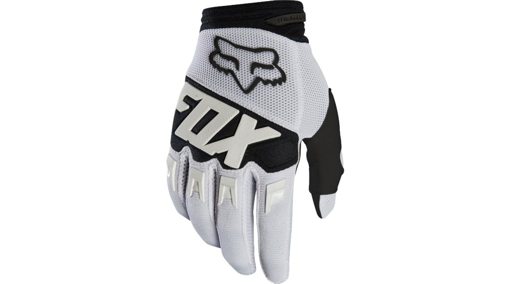 Fox Dirtpaw MX-骑行手套 长 男士 型号 S white