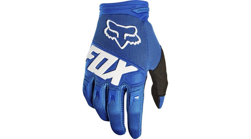 Fox Youth Dirtpaw Race MX-Handschuhe lang Kinder Gr. S blue