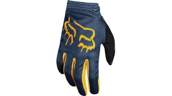 Fox Girls Dirtpaw Mata MX-Handschuhe lang Kinder navy-yellow